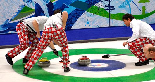 Curlingtapere griner ikke