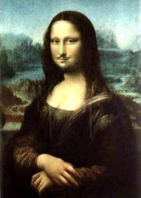 Knut og Mona Lisas enigmatiske smil